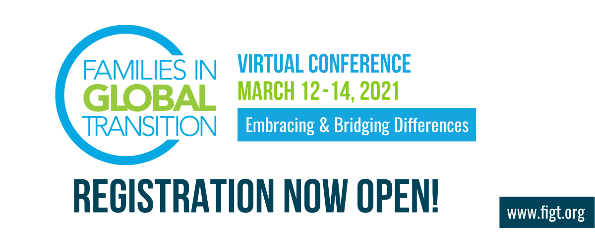 FIGT Virtual Conference 12-14 March 2021, Embracing & bridging differences. Registration now open!