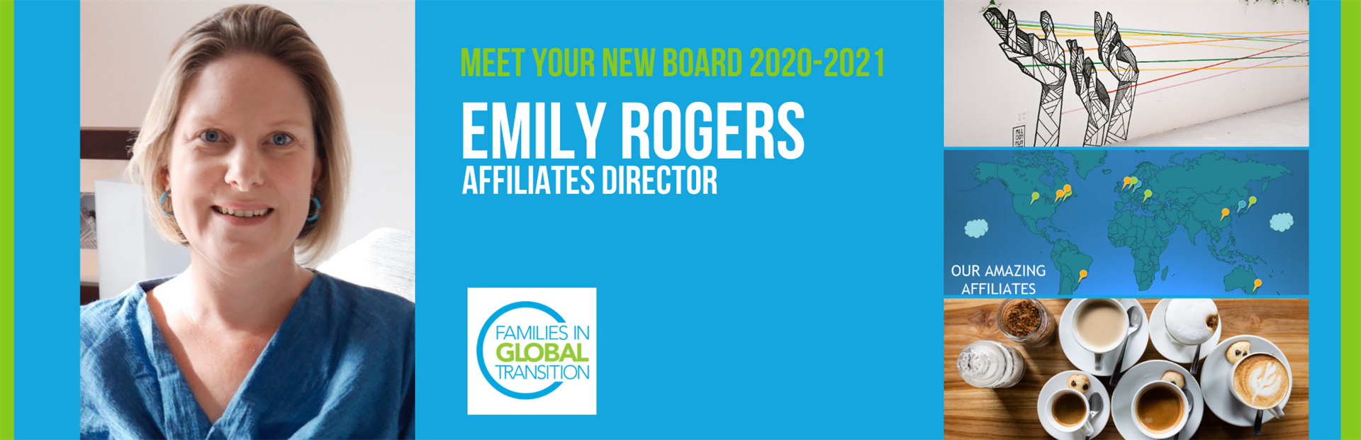 blog title: meet your new board 2020-2021 Emily Rogers, Affiliates Director