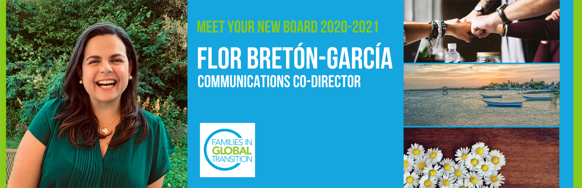 blog post title: Meet the new FIGT communications co-director Flor Bretón-García
